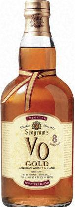 Seagrams Vo Canadian Whiskey 8 Year Gold
